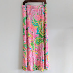 Lilly Pulitzer | Marnie Maxi Column Skirt Pink
